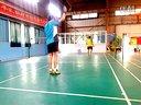 羽毛球新手高远、杀球练习