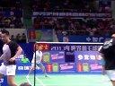 羽毛球知识教学网 邦德彼德森vs苏亚达玛亨德拉 2013世界羽毛球锦标赛
