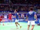 蔡赟傅海峰VS云天豪陈伟强 2013羽毛球世锦赛 爱羽客羽毛球网