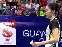 李雪芮vs裴延珠 羽毛球知识教学网 2013羽毛球世锦赛半决赛