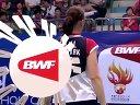 王晓理于洋vs佩蒂森卡米拉 羽毛球知识教学网 2013世界羽毛球锦标赛女双半决赛