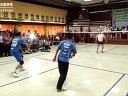 因达农表演赛 羽毛球知识教学网