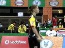 羽毛球知识教学网 2013年印度羽毛球联赛 申克VS内维尔