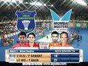 李宗伟鲍恩VS迪柱沙旺特 2013印度羽毛球联赛 爱羽客羽毛球网
