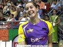 马琳VS辛德胡 2013印度羽毛球联赛 爱羽客羽毛球网