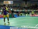 爱羽客羽毛球网 坦农萨克VS卡什亚普 2013印度羽毛球联赛 男单半决赛