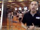 退伍军人经上海体适能健身教练培训考核后执教于某知名健身会所