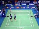 2013年广州世界羽毛球锦标赛男双四分之一决赛  金基正金沙朗VS古健杰陈文宏