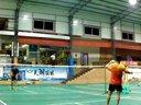 2013年10月14日备战十一县羽毛球交流赛21分训练赛