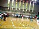 首都机场首届羽毛球比赛重庆对湖北