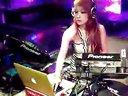 酒吧性感美女现场dj打碟视频表演 演出 标清