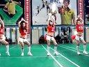 长春盘古网络 羽毛球比赛 技术大区拉拉队舞蹈