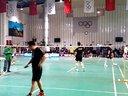 20131201胜利杯羽毛球公开赛,李军和屠龙pk精英二队