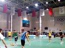 20131201胜利杯羽毛球公开赛,潘伟和杨涛pk8号场地队