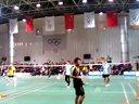 20131130胜利杯羽毛球公开赛,无忌和阳光pk幺幺二队