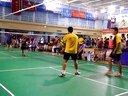 全国大学生羽毛球比赛西农大 鲁天雄 王志泓vs人大钟鸿斌 陈豪俊2