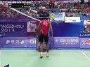 林李大战集锦  世界羽毛球锦标赛男单林丹VS李宗伟 标清