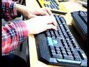 神手  K5有线游戏键盘 电脑键盘 USB网吧键盘