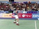 羽毛球知识教学网提供 2014韩国超级赛李宗伟VS杜鹏宇