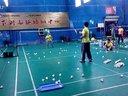 2014寒假羽毛球训练一瞥--之四(小蔡)