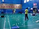 2014寒假羽毛球训练一瞥--之五(小蔡)
