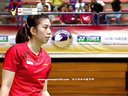 奥原希望vs阿丽央蒂 2014马来西亚大奖赛半决赛 羽毛球知识教学网提供