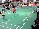 诸城先锋羽毛球俱乐部2014年春季五羽伦比羽毛球决赛6