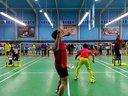 20140420红牛杯羽毛球赛俊杰组合对石油矿区男双第一局上