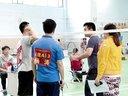 羽毛球比赛剪影