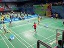 2014首都羽毛球高校赛 甲A男单半决赛 宋宗耀VS廖戈