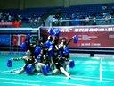第四届北京MBA联盟羽毛球赛啦啦队比赛-对外经贸大学队
