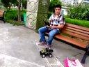 玩具车FPV改装后启东儿童乐园测试QQ834581271