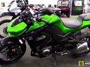 2015 全新川崎Z1000公升级街车 多伦多摩托车展静态实拍展示