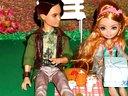 芭比娃娃衣服婚纱:芭比娃娃的奇妙约会 芭比娃娃动画片全部动漫版