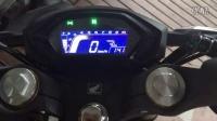 本田CB190R油门响应视频