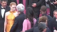 全娱乐直击70届戛纳国际电影节红毯 粉裙范冰冰牵手威尔史密斯 170524