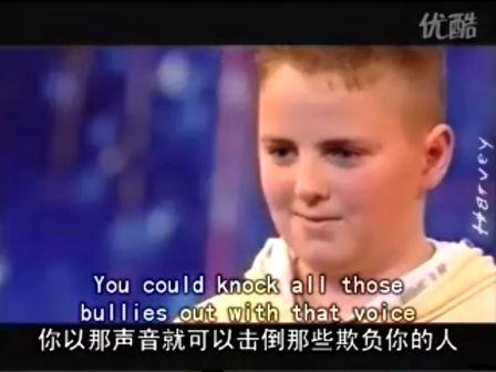 13岁少年天籁之音感动评委字幕版