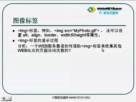 张孝祥JavaScript网页开发系列课程之第一课第七讲 图像标签