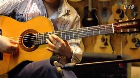 镜中的安娜 安娜小笺 马丁尼MCG150 全单古典吉他 赛平演奏
