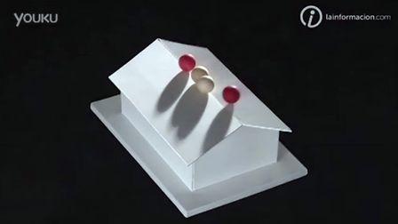 超神奇反重力模型 圆球卡在屋顶下不来