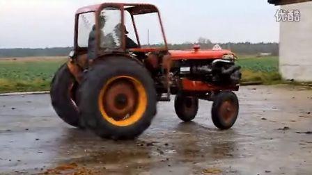 拖拉机吧 东方红拖拉机吧 改装拖拉机吧图片