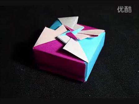 折纸桌子的步骤图解