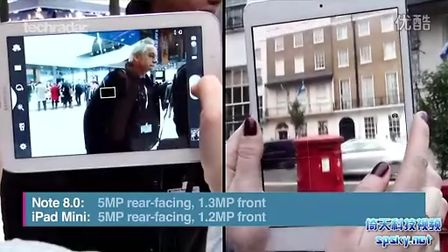 Galaxy Note 8.0对比iPad Mini