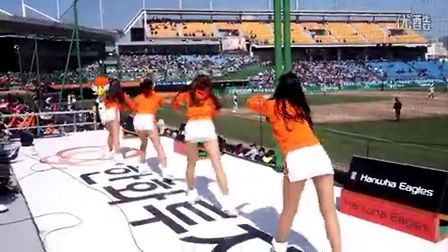 韩国美女拉拉队热舞130414