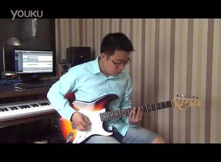 叼炸天电吉他独奏《 天空之城 》
