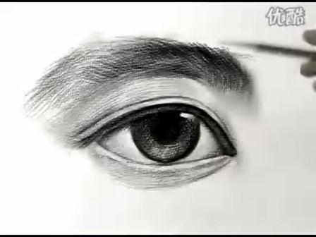 素描头像-五官-眼睛——2