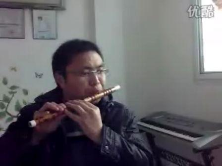 千年等一回笛子曲谱