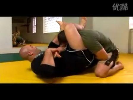 巴西柔术之三角锁技术