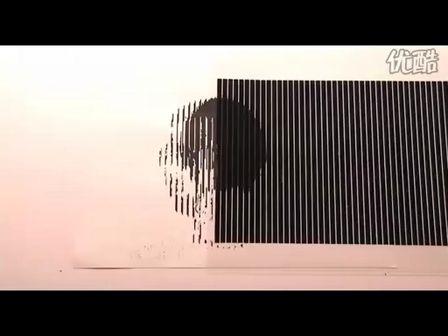 令人惊叹的视觉错觉制成的动画