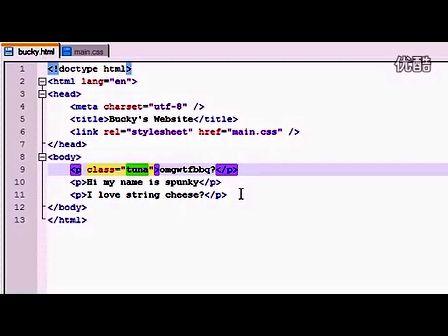 HTML5教程 第五集 属性选择器